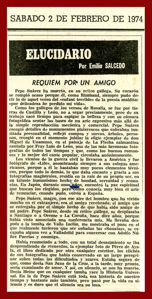 Elucidario. E Salcedo. 1974